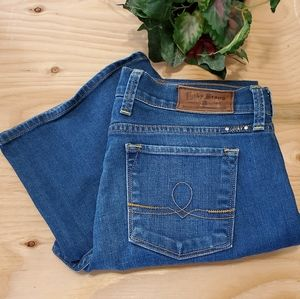 Lucky Brand Sofia Boot Cut Blue Jeans